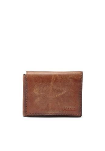 Fossil   DERRICK男用小配件 ML37002esprit台灣門市00, 飾品配件, 皮革
