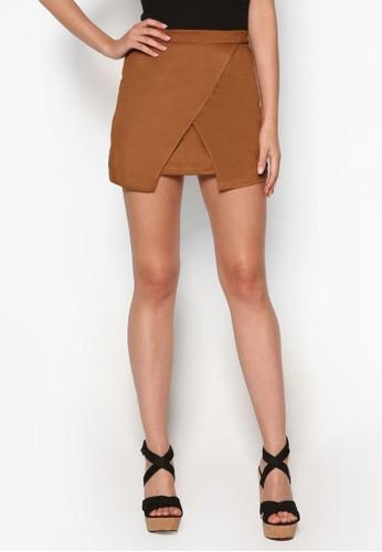 Love 裹飾短裙、 服飾、 裙子ZALORALove裹飾短裙最新折價