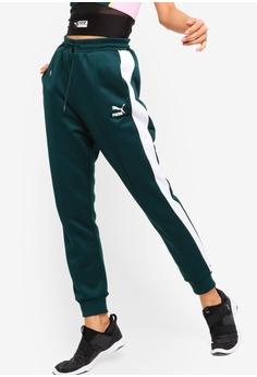 Puma green Sportstyle Prime ClassicsT7 Track Pants 915E3AAB63483AGS 1 93a4bdfc36e65