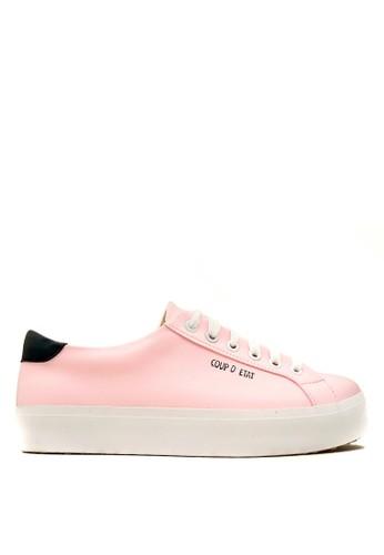 CDE pink CDE Ceremonial Women Sneaker Pink/Black CD965SH19XOQID_1