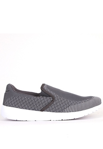 World Balance grey Colbie Mens Slip On Sneakers 5748ESHF0F4D40GS_1