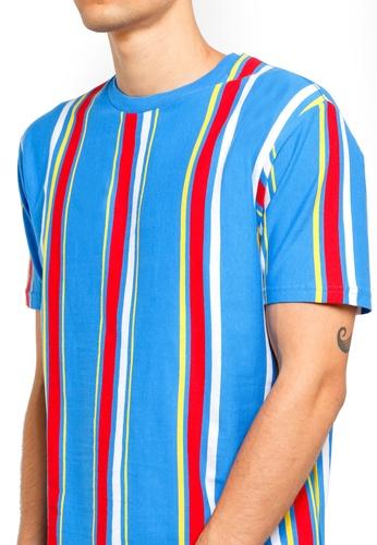 Factorie 多色 短袖條紋T恤 CACFAAAFD3DA71GS_1