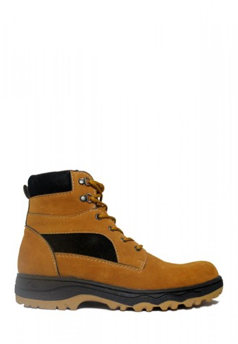 D-Island brown D-Island Shoes Safety Boots Rocky Suede Soft Brown 53B40SH70383DCGS_1