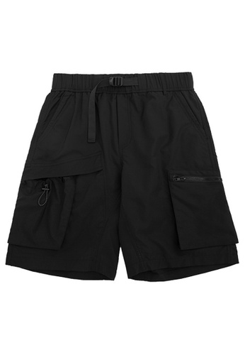 Twenty Eight Shoes Functional 3D Pocket Tooling Shorts 3005S20 57FAFAAE59C04AGS_1