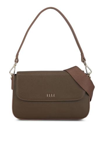 ELLE green Iris Sling Bag D5DB6AC8E28EA0GS_1