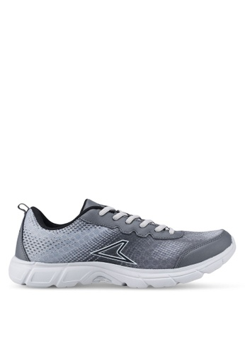 Power black and grey Power Running Shoes 8A7D3SH894745AGS_1