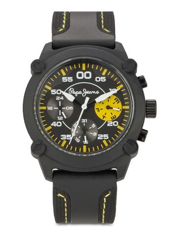 Resprit 香港 outlet2351108001 Steve 計時矽膠圓錶, 錶類, 飾品配件