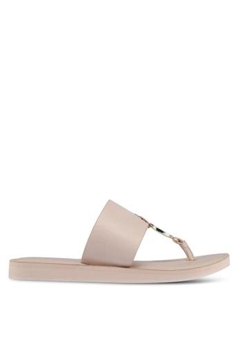 ALDO pink Yilania Slide Sandals 53CF5SH3301B4FGS_1