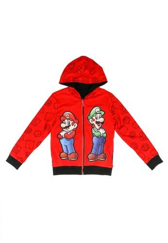 Desigual red Super Mario Hoodie 0D102KA91820D7GS_1