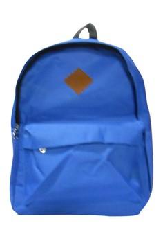 Casual Plain Unisex Fashion Canvas School Bag BackPack BP-37