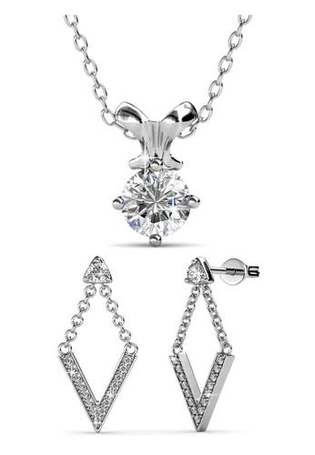 Her Jewellery Mystique Venus Set - Crystals from Swarovski® HE210AC0FUBYSG_1