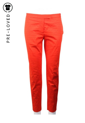 Paul Smith red Pre-Loved paul smith Red Slim Cut Pant A9A87AA218DE6CGS_1
