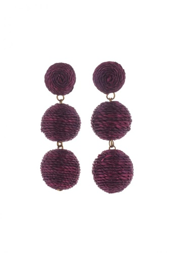 Style Cat purple Style Cat Havana Ball Earrings 0CC95ACF2232DEGS_1