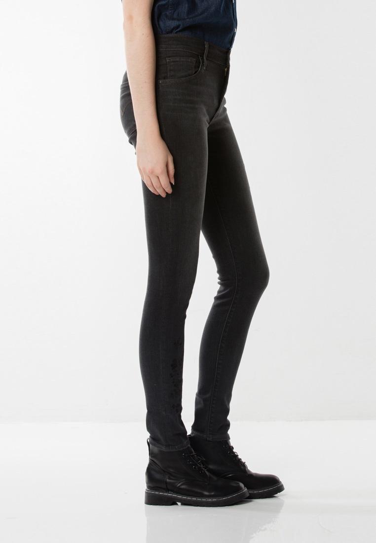 Black Asia High Rise Levi's Jeans 721 Skinny qHTw7