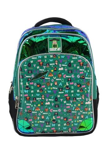 Swan green Swan Smile Victor 2 Primary School Bag - Monster 628D2KC130FD30GS_1