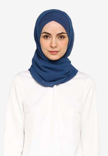 Bokitta blue Blueberry FreeStyle Hijab AC846AABB945BCGS_1