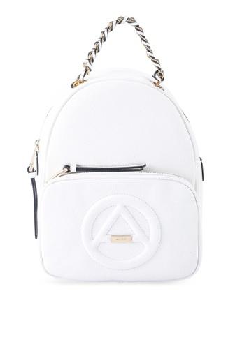 ALDO white Haeralian Backpack BD522AC4B92650GS_1