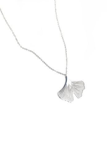 Buy gung jewellery clover pendant necklace in silver online zalora gung jewellery silver clover pendant necklace in silver b3208ac2316f39gs1 aloadofball Choice Image