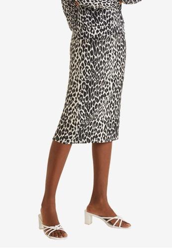 60997dc7d Shop MANGO Animal Print Skirt Online on ZALORA Philippines