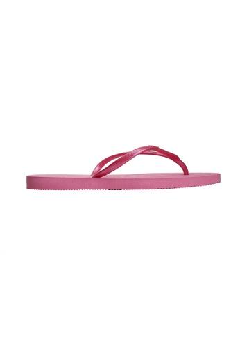 Dupe pink Dupé CHARME Pink Flip Flops DU634SH74LYBHK_1