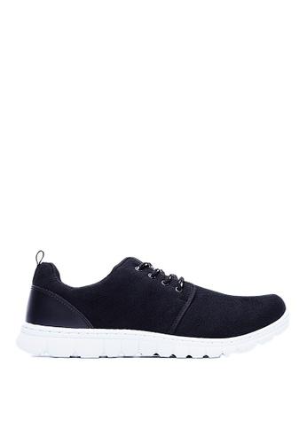 Life8 black MIT Super-Elastic Yuppie Space Sports Shoes-09483-Black LI286SH0RM0HMY_1
