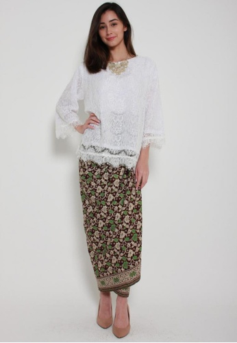 824b0e8dcc5b45 Buy Naphthys Collection Batik Skirt/Sarong Online on ZALORA Singapore