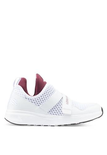 Armani Exchange white Perforated Sneakers F1EBBSH76E4E2DGS_1