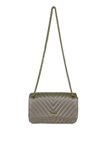 Mel&Co gold Faux Leather Sling Bag 27C04AC5E05B72GS_1