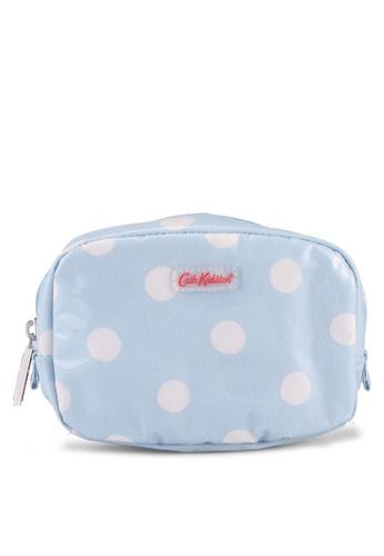 Cath Kidston blue Button Spot Make Up Case FD609AC28A2D43GS_1