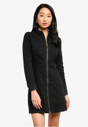 Noisy May black Lisa Denim Dress AC27CAAB53455BGS_1