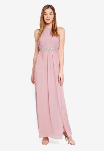 TFNC purple Maera Maxi Dress FF268AADF09C58GS_1