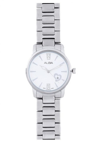 Alba silver Jam Tangan Alba Ladies AH7D45 Strap Stainless Steel Silver AB018AC07E88FFGS_1