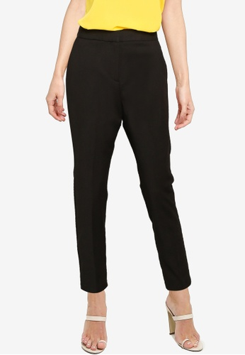 French Connection black Fino Glass Stretch Skinny Trousers 5EA68AA65816C9GS_1