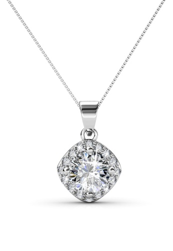 Her Jewellery silver Her Jewellery Cushy Pendant (White Gold) with Necklace Chain with 18K Gold Plated AFB11AC62DF3D6GS_1