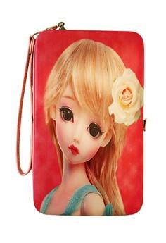 Simple Princess Universal Mobile Case / Wallet Card Holder