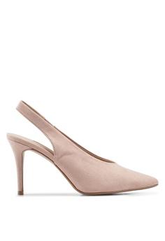 5ae83fcb6fc Dorothy Perkins pink Pink Daisy Slingback Court Heels A88C0SH7CC5745GS 1