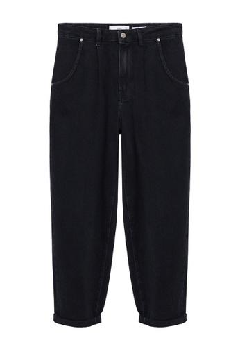 Mango black Regina Slouchy Jeans C92BCAA6B18AF2GS_1