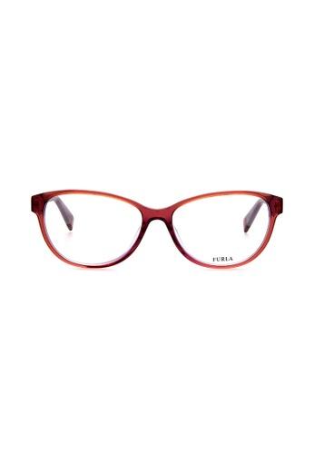 Furla Furla VFU030 Brown Eyeglasses  FU454AC0RAMRMY_1