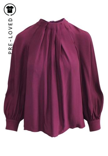 Max & Co purple Pre-Loved max & co Purple Shirt B6ED5AAD42156AGS_1
