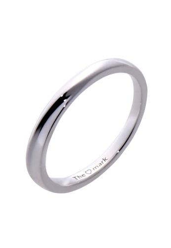 The LoveMark silver Criss Cross Ring for Men lr0042m TH516AC62VBDPH_1