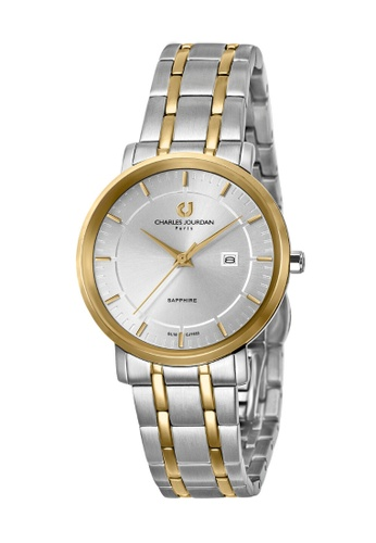 Charles Jourdan silver Charles Jourdan Ladies Watch Elegance Quartz CJ1033-2112 CH774AC0WAOKID_1