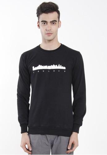 JOULDAS black Jouldas Black Men Sweatshirts 0C90EAA3D86CCDGS_1