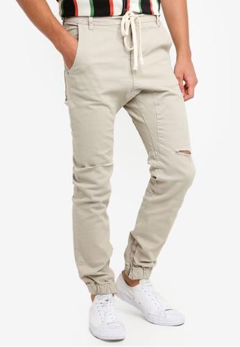 09ab3bb0eb34b Shop Cotton On Slim Denim Joggers Online on ZALORA Philippines