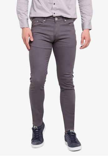 Fidelio grey 3060 Skinny Stretchable Chinos 62A79AA67785AAGS_1