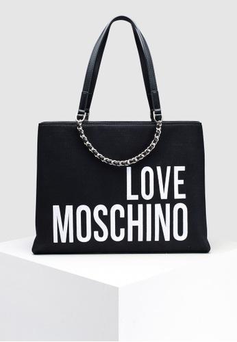 171454690f7 Buy Love Moschino Canvas Tote Bag Online   ZALORA Malaysia