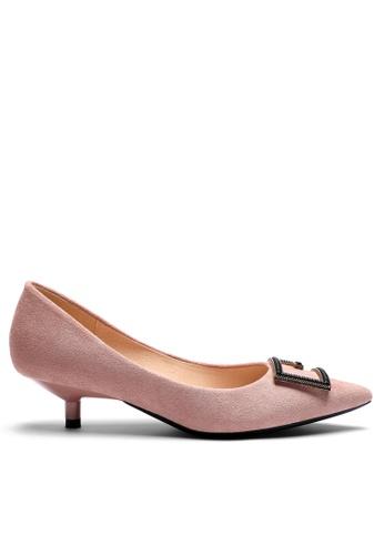 Twenty Eight Shoes Square Buckle Pumps 296-50 503F9SH6645DD0GS_1