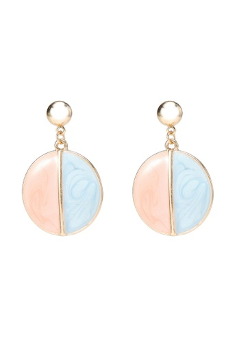 Saturation multi Pastel Drop Earrings 9AF25AC3A7D600GS_1