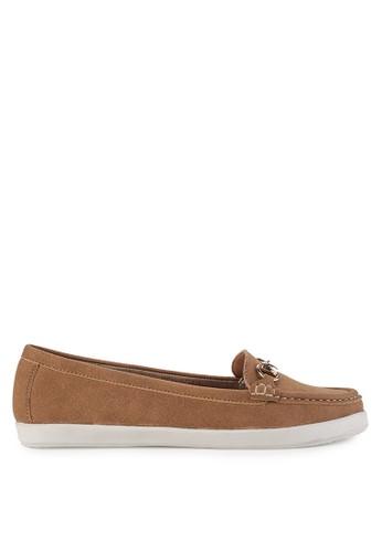 De LUCA brown Elegance Flat Moccasins Sepatu Wanita F4B99SHFF97A51GS_1