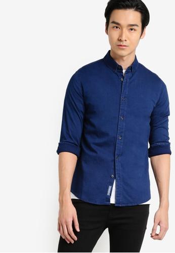 Calvin Klein navy Wilshner Shirt - Calvin Klein Jeans CA221AA06XTHMY_1