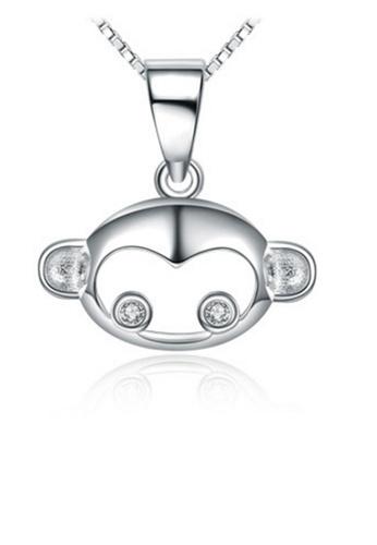 LYCKA silver LPP88097 S925 Silver Necklace 7A36CAC31819C2GS_1